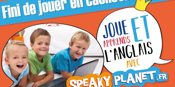 Encarts publicitaires pour divers magazines pour enfants, SpeakyPlanet, 2017.