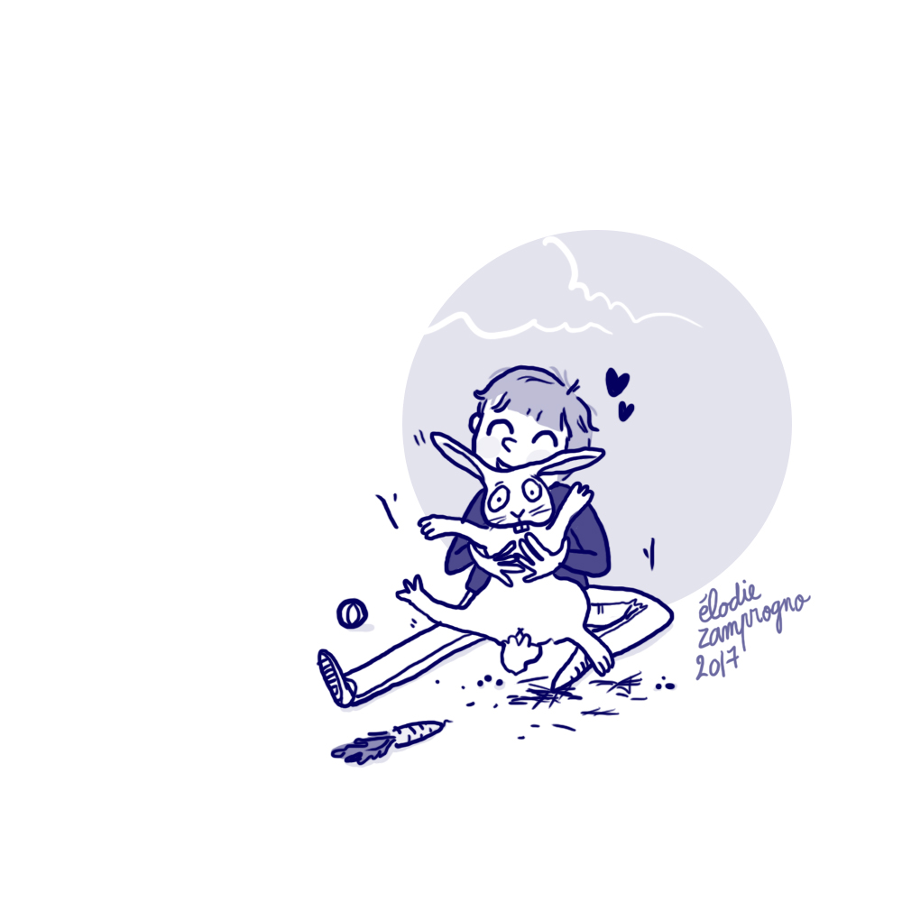 Blue, illustrations