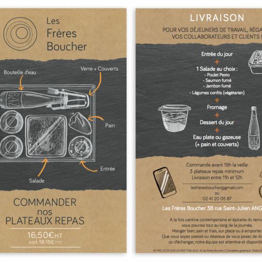Les frères Boucher : épicerie / cantine